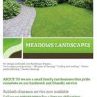 Meadows landscapes logo