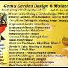 Gem's Garden Design & Maintenance profile image