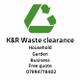 K&R Waste clearance logo