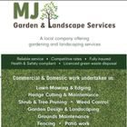 MJ Garden Solutions logo