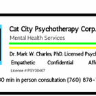 Cat City Psychotherapy Corp. logo