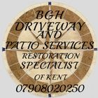 BGH driveway and patio services logo