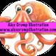 Alex Crump illustration logo