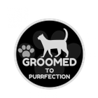 Groomed to Purrfection logo