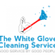 The White Glove Cleaning Service logo