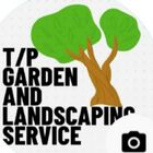 T/p garden and landscaping service, logo