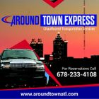 Around Town Express Shuttle and Limousines logo