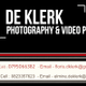 De Klerk Photography & Video Productions logo