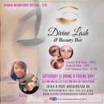 Divine Lash & Beauty Bar profile image.