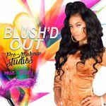 Blush'D Out Makeup Studios profile image.