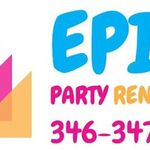 Epic Party Rentals LLC profile image.