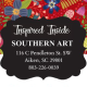 Inspired Inside Southern Art, Photography and Home Decor logo