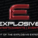 EXPLOSIVE - Entertainments & Events profile image.