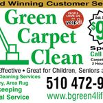Green Carpet Clean and Housekeeping profile image.