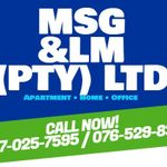 MSG and LM. Cleaning services and products supply company profile image.