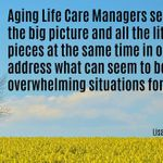 Peace of Mind Aging Life Consulting, LLC profile image.