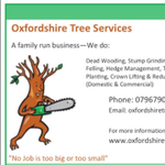 Oxfordshire Tree Services profile image.