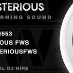 DJ Mysterious FWS profile image.