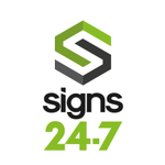 Signs 24-7 profile image.