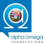 Alpha Omega Translations logo