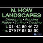 N. How landscapes  logo
