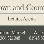 Town & Country Letting Agents profile image.