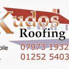 Kudos Roofing  logo