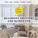 Beaumont Shutters and Blinds Ltd profile image.