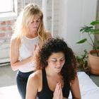 Des Moines Massage + Yoga Co. logo