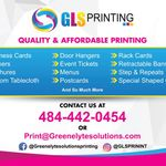 Greenelyte Solutions Printing profile image.