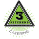 3 Kitchens Catering logo