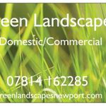 Green Landscapes - Newport, Gwent profile image.