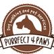 Purrfect 4 Paws logo