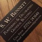 S.W. Bennett Plastering, Decorating & Building profile image.