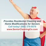 The Senior Cleaning Company profile image.