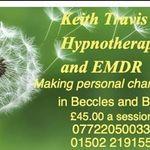 Keith Travis hypnotherapy Beccles, Bungay, Norwich profile image.