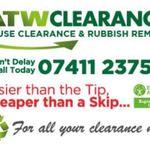 Atw Clearances house clearance, Rubbish Removal & mini skip hire profile image.