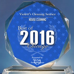 Violett's Cleaning Service profile image.