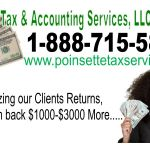 Poinsette Tax & Accounting profile image.
