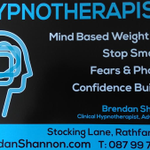 Brendan Shannon Hypnotherapy profile image.