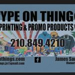 Type on Things Printing and Promo Products profile image.