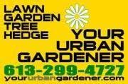 YOUR URBAN GARDENER logo