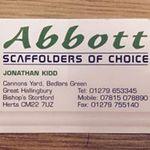 Kidd Scaffolding Ltd t/a Abbott Scaffolding profile image.