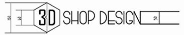 3D Shop Design logo