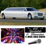 DJ Specialists & Limousines profile image.