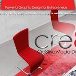 Cre8tive Media Design Firm profile image.