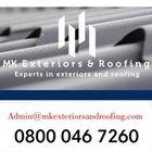 MK Exteriors & Roofing logo