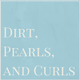 Dirt, Pearls, and Curls Photography logo