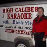 High Caliber DJ & Karaoke with Richie Hodge profile image.
