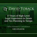 David Toback Esq. profile image.